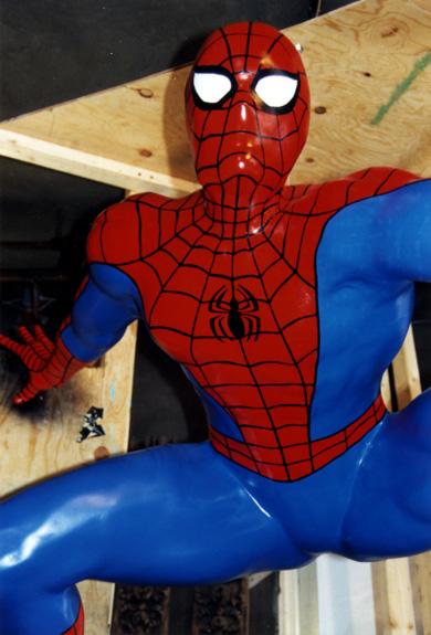 """Spider Man"" (Close- up)"